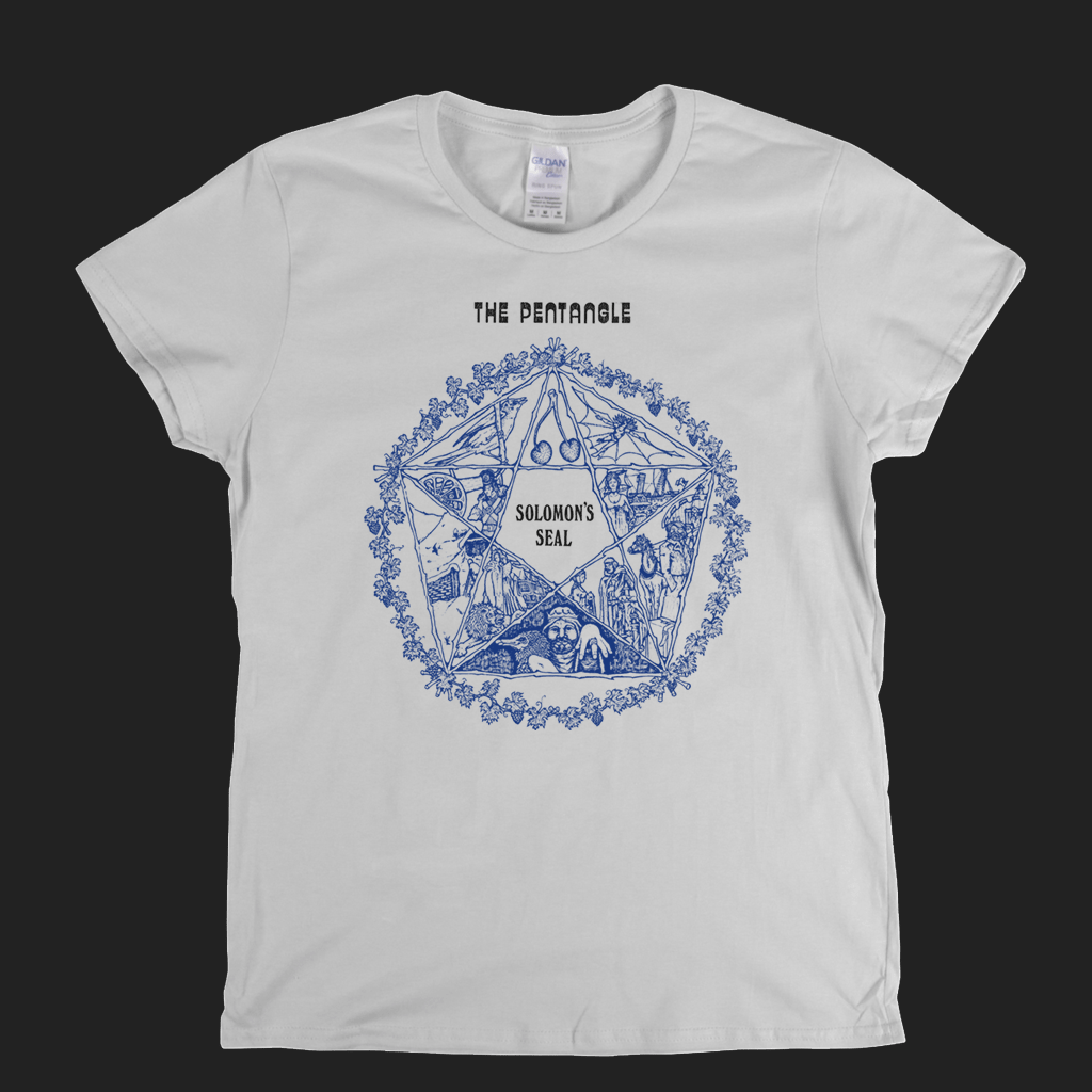 The Pentangle Solomons Seal Womens T-Shirt
