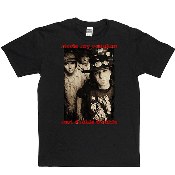 Stevie Ray Vaughan Double Trouble T-shirt