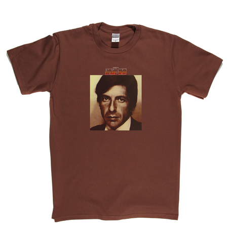 Leonard Cohen Songs Of T-Shirt