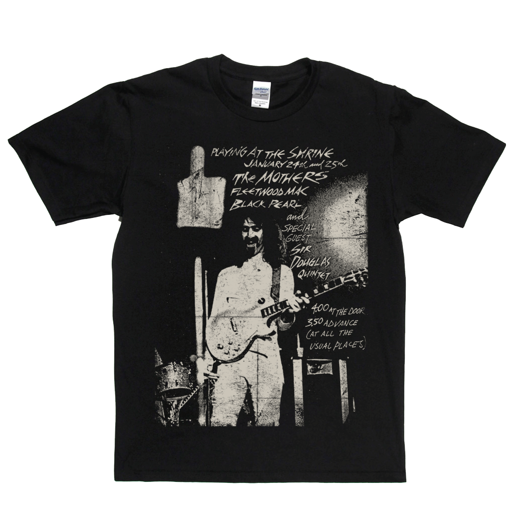 Zappa Playing At The Shrine Poster T-Shirt