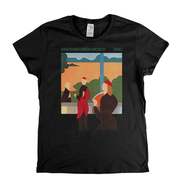Brian Eno Another Green World Album Womens T-Shirt