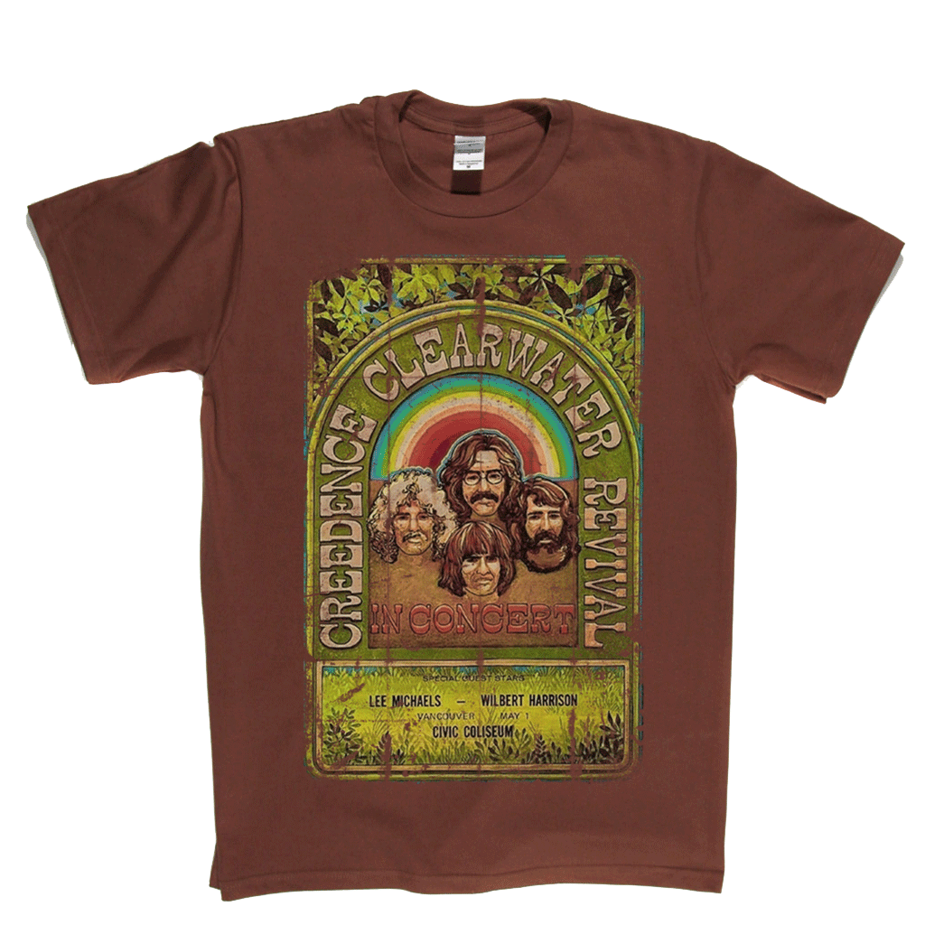 Creedence Clearwater Revival Poster T-Shirt