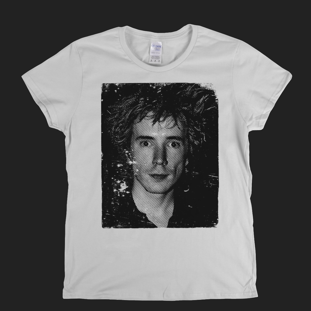 Johnny Rotten The Portrait Womens T-Shirt