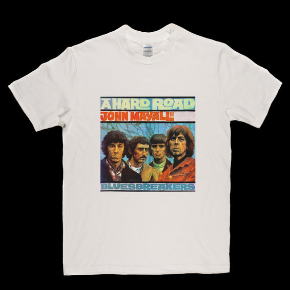 John Mayall Bluesbreakers Hard Road Album T Shirt