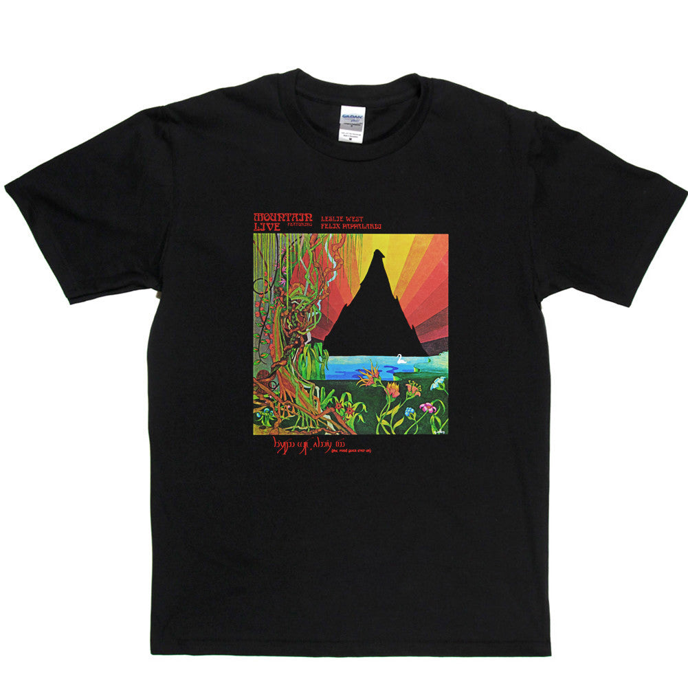 Mountain Live Cover T Shirt