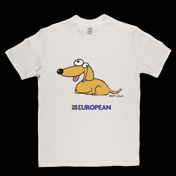 The New European Dog T Shirt