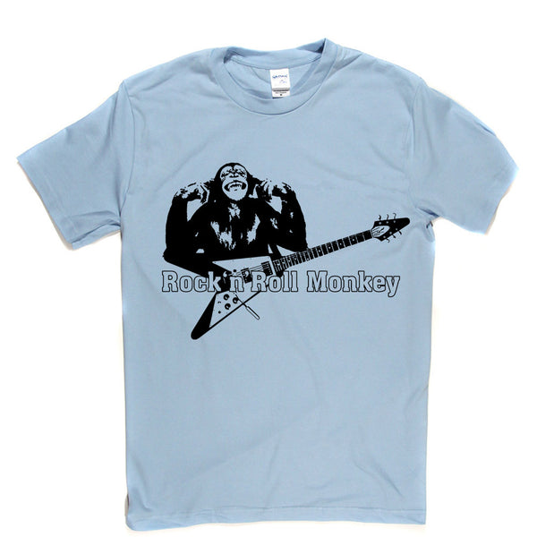 Rock n Roll Monkey T Shirt