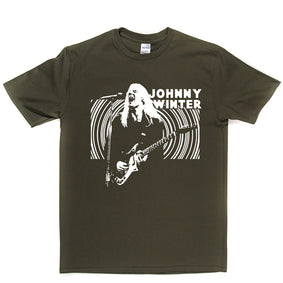 Johnny Winter Backlit T Shirt