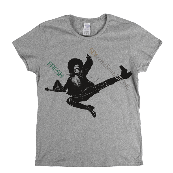 Sly And The Family Stone Fresh Womens T-Shirt
