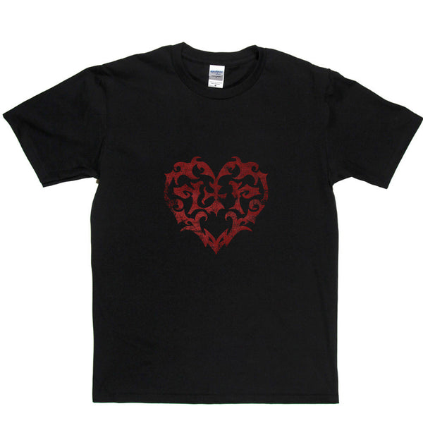 Rock and Roll Heart T Shirt