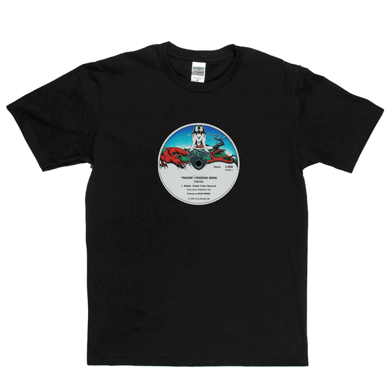 Tangerine Dream Phaedra Label T-Shirt
