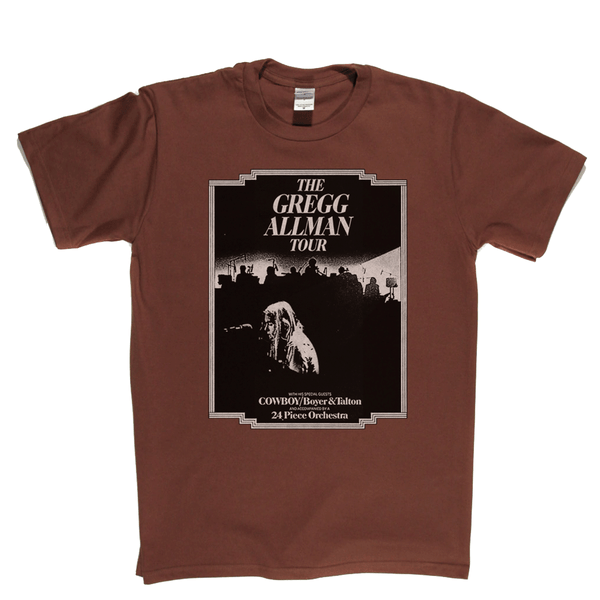 The Gregg Allman Tour T-Shirt