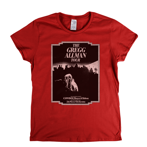 The Gregg Allman Tour Womens T-Shirt