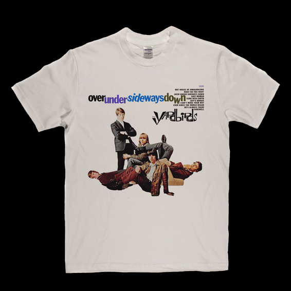 The Yardbirds Over Under Sideways Down T-Shirt