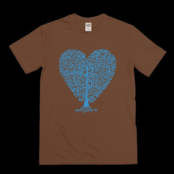 Trees Support System For Life Heart T-shirt