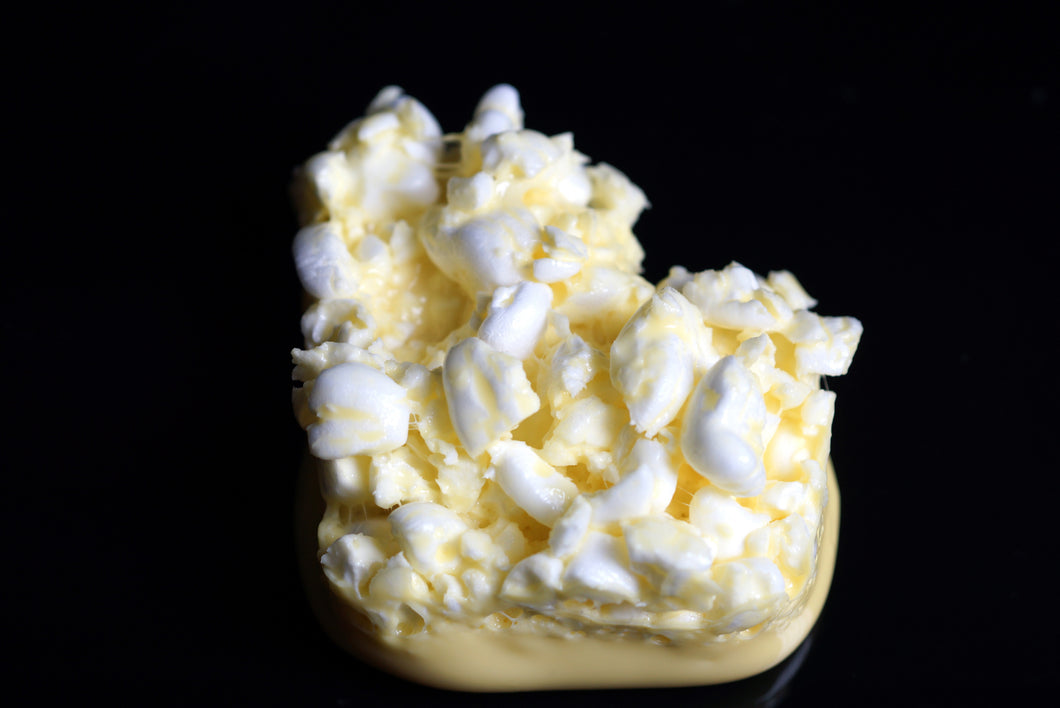 Buttered Popcorn Yellow Fluffy Slime