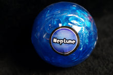 Neptune Planet Putty Marble Glossy Slime w/ Planet Container