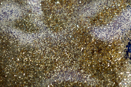 Brushed Gold Metallic Glitter - Slimes & Floams - Extra Fine