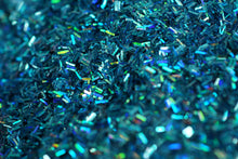 Blue Holographic Color Changing Glitter - Slimes & Floams - Medium