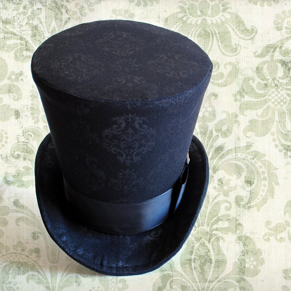Gothic Lady's Perching Top Hat-By Bizarre Noir