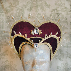 Royal Tudors Headdress-By Bizarre Noir