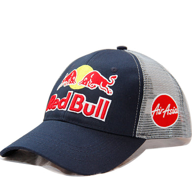 Classic Red Bull MotoGP Marc Marquez Racing Baseball Cap Team RedBull Air Asia Truck Hat Navy