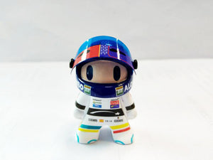 New F1  Fernando Alonso mClaren Honda Cute Mini Figure Formula 1 Toy Racing Driver Figurine
