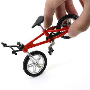 Cool Alloy Mini Street BMX Finger Bike Toy Die-cast Bicycle Motocross Racing Model