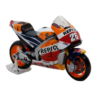 New Honda MotoGP Dani Pedrosa #26 Diecast Motorcycle Model Bike 1:18 By Maisto