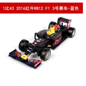New Formula 1 Formula 1 Daniel Ricciardo 3 Red Bull Car Model F1 Racing Driver Season 2016-2019 Hybrid 1:43