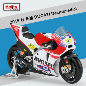 New Ducati MotoGP Andrea Iannone #29 Diecast Motorcycle Model Desmosedici  Bike 1:18 By Maisto