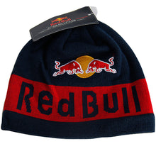 Load image into Gallery viewer, New Red Bull Moto Gp Marc Marquez Navy Skull Cap Formula 1 Racing Ski Beanie Hat
