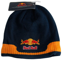 Load image into Gallery viewer, New Red Bull Formula 1 Max Verstappen Racing Ski Beanie Hat MotoGP Navy Skull Cap