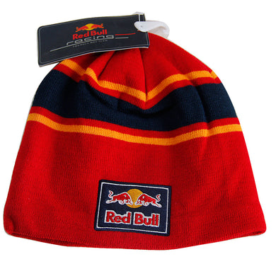 New Red Bull Formula 1 Moto Gp Red Stripes Skull Cap Racing Ski Beanie Hat
