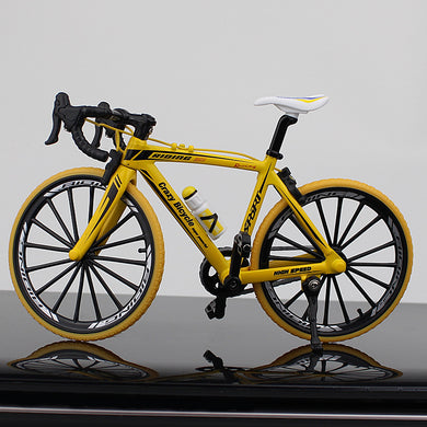 New Alloy Mini Road Racing Bike Toy Die-cast Performance Finger Racing Bicycle Model