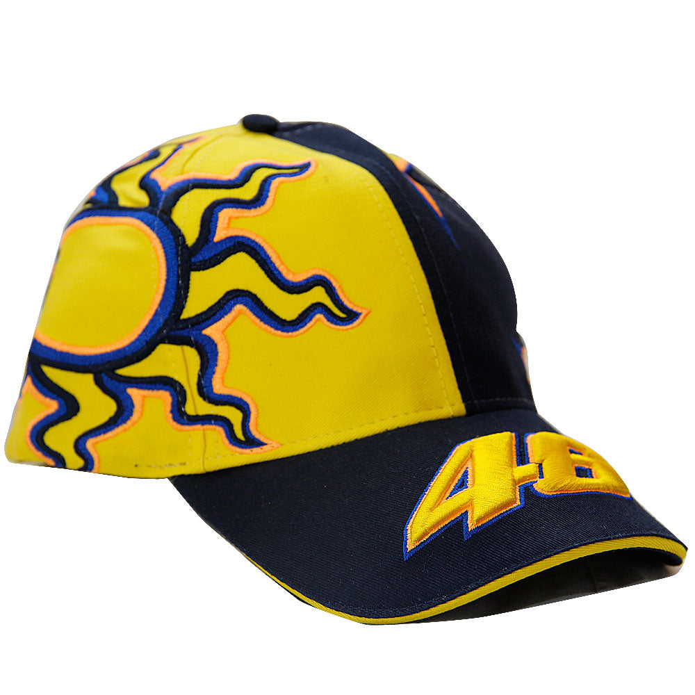 Mens Valentino ROSSI VR46 2020 Moto GP Sun and Moon Baseball Cap