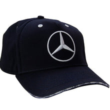 Load image into Gallery viewer, New Lewis Hamilton 44 AMG Motorsport Cap F1 Mercedes Benz  Formula One 1 Baseball Hat Navy White