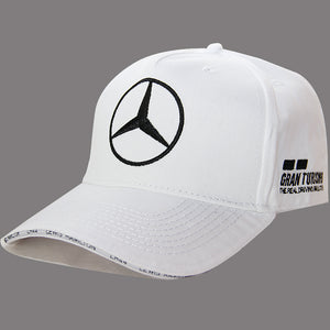 New Lewis Hamilton 44 AMG Motorsport Cap F1 Mercedes Benz  Formula One 1 Baseball Hat Navy White