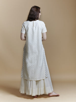 Double Layer Slit Kurta - BunaStudio