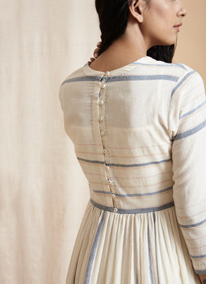 Country stripe dress - BunaStudio