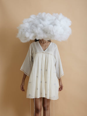 Cloud Short Kaftan Dress - BunaStudio