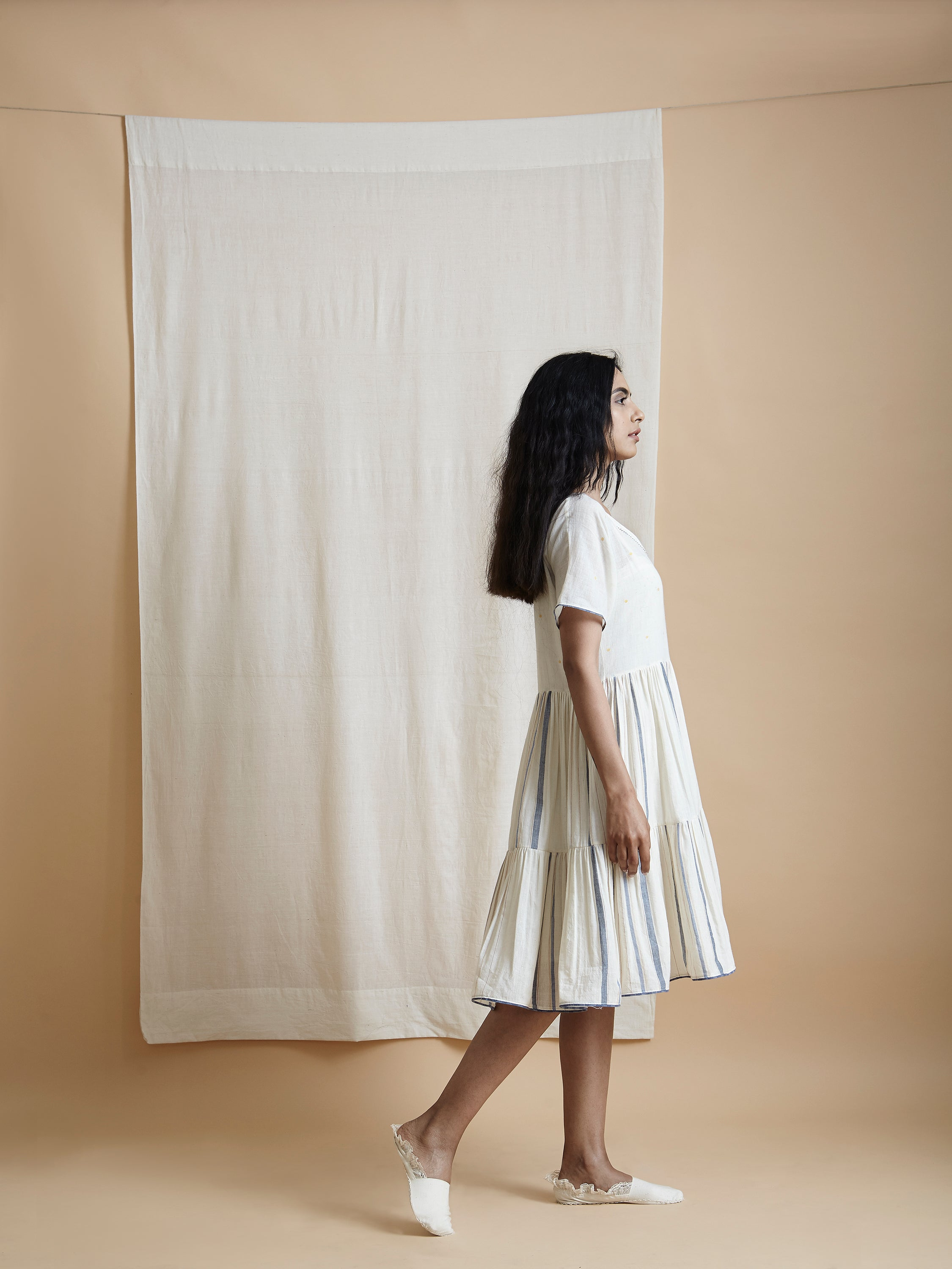 Sun Spot Tier Dress - BunaStudio