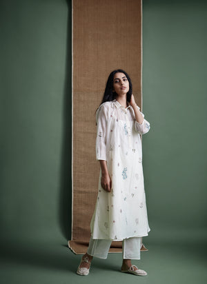 Plant Heart Shirt Dress - BunaStudio
