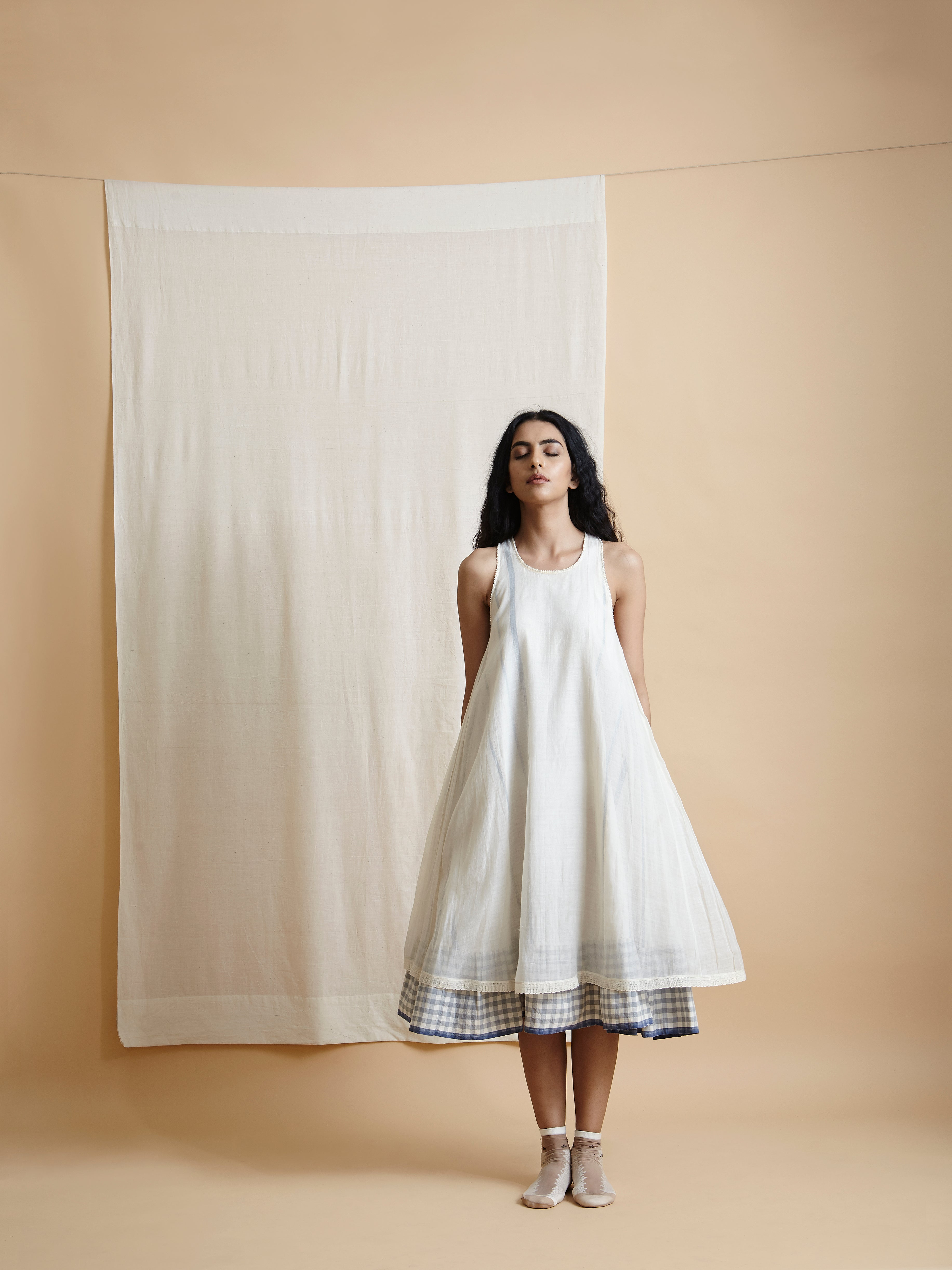 Up In The Clouds Tent Dress - BunaStudio