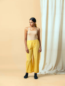 Mustard Dot Pants - BunaStudio