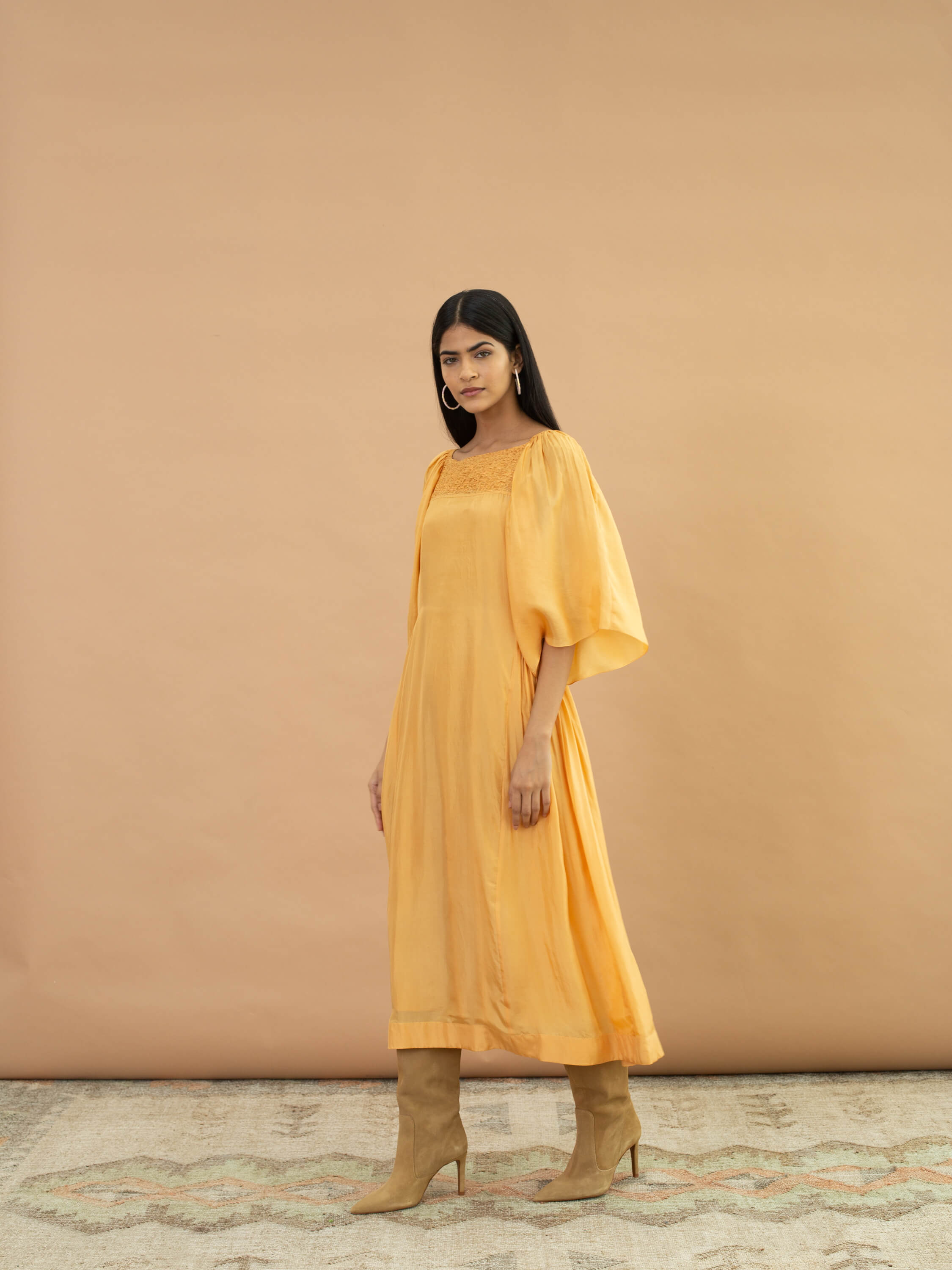 Bumblebee Smock Dress - BunaStudio