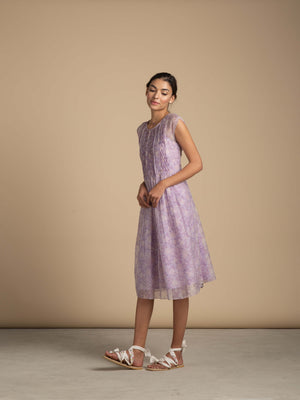 Lavender Lane Smock Dress - BunaStudio