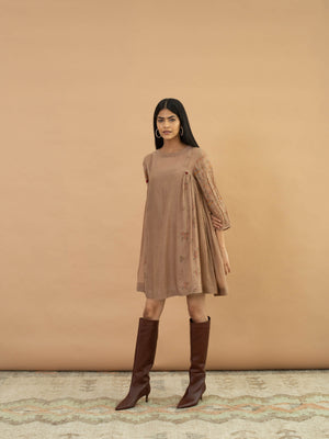 Pecan Tassel Dress - BunaStudio