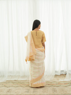 Sunflower Saree - BunaStudio