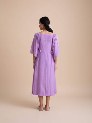 Aster Bow Dress - BunaStudio